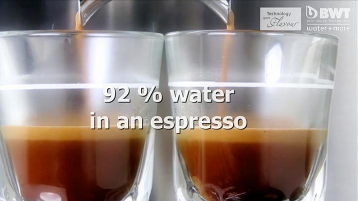 lọc nước máy pha cafe