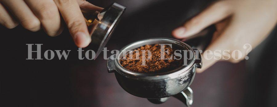 cách nén cà phê espresso, espresso tamping, nén cà phê espresso