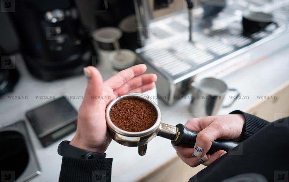 nén cà phê espresso